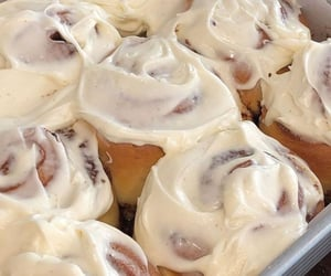 food, dessert, and roll image