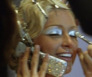 2000s, cell, and eyeshadow image