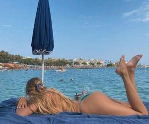 bikinis, girl, and swimsuit image