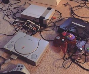 gaming, playstation, and video games image