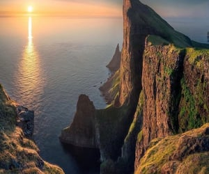 atardecer, belleza, and isla image