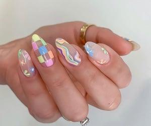 fashion, nails art, and nails design image