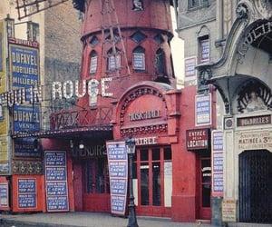 paris-france, mouli̇n rouge cabaret, and 1839-1922 image