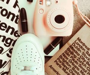 camera, shoe, and nike image