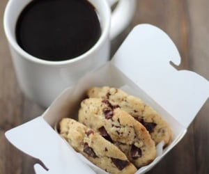black, كوكيز, and chocolate image