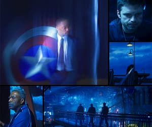 aesthetic, blue, and mcu image