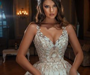 beautiful, bride, and diadem image