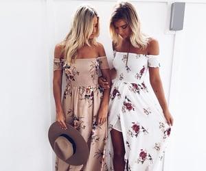 bohemia, dress, and fashion image