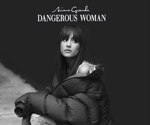 dangerous, woman, and ariana image