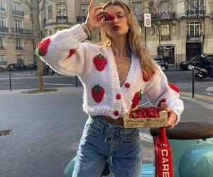 fashion, strawberry, and inspo image