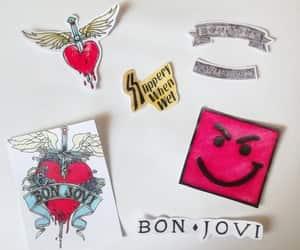 art, drawing, and bon jovi image
