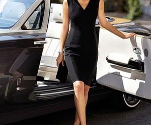 car, dress, and vintage image