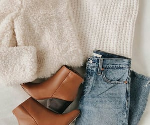autumn, beige, and boots image
