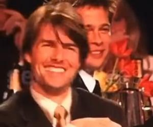 brad pitt and Tom Cruise image