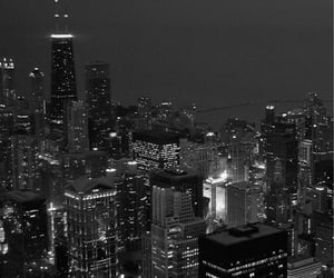 city, black, and wallpaper image
