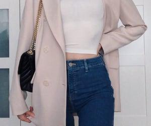 basics, blazer, and fashion image
