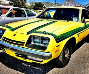 chevrolet, seventies, and yellow image