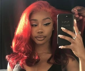 makeup, music, and sza image