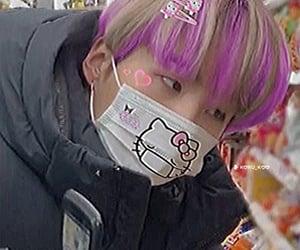 hello kitty, min yoongi, and suga icon image