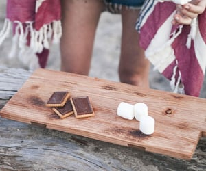 blanket, chocolate, and summer image