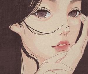 anime girl, aesthetic, and asian image