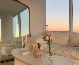 aesthetic, interior, and flowers image