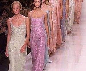 catwalk, runway, and vogue image