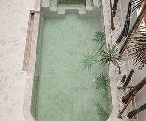 architecture, pool, and aesthetically image