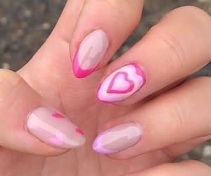 fashion, girl, and nail image