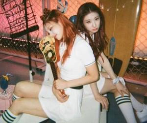 itzy, chaeryeong, and yeji image