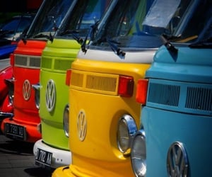 car, volkswagen, and colors image