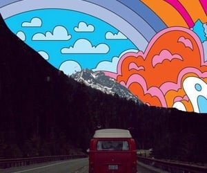 Collage, hippie, and psychedelic image