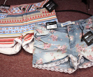 floral and shorts image