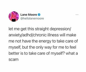 funny, self care, and healing image