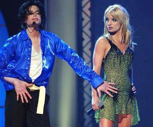 britney spears and michael jackson image