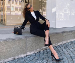 dior, look, and louboutin image