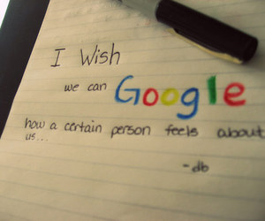 google, wish, and quotes image