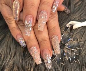manicure, nail, and uñas image