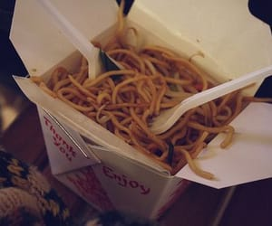 alone, eat, and noodles image