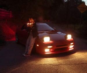 car, girl, and racing image