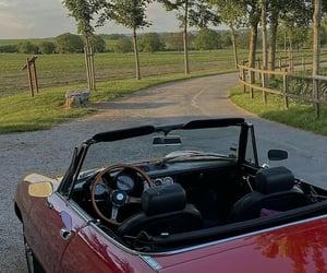 cabrio, old, and pretty image