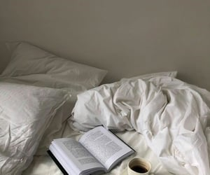 books, aesthetic, and coffee image