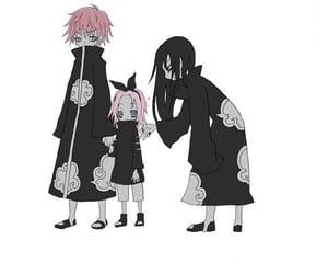 naruto, haruno sakura, and sasosaku image