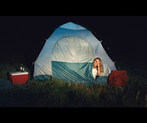 camping, honeydew, and horror image