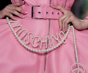 fashion, Moschino, and haute couture image