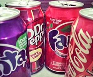 beverages, cocacola, and fanta image