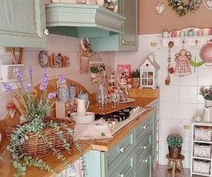belleza, cocina, and retro image