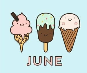 june, month, and hello june image
