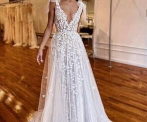 bride, future, and dress image