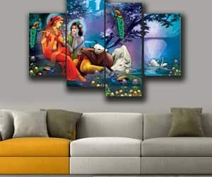 etsy, walpapers, and radha krishna image